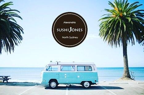 Sushi Jones logo