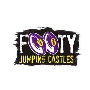 footy jumping castles logo
